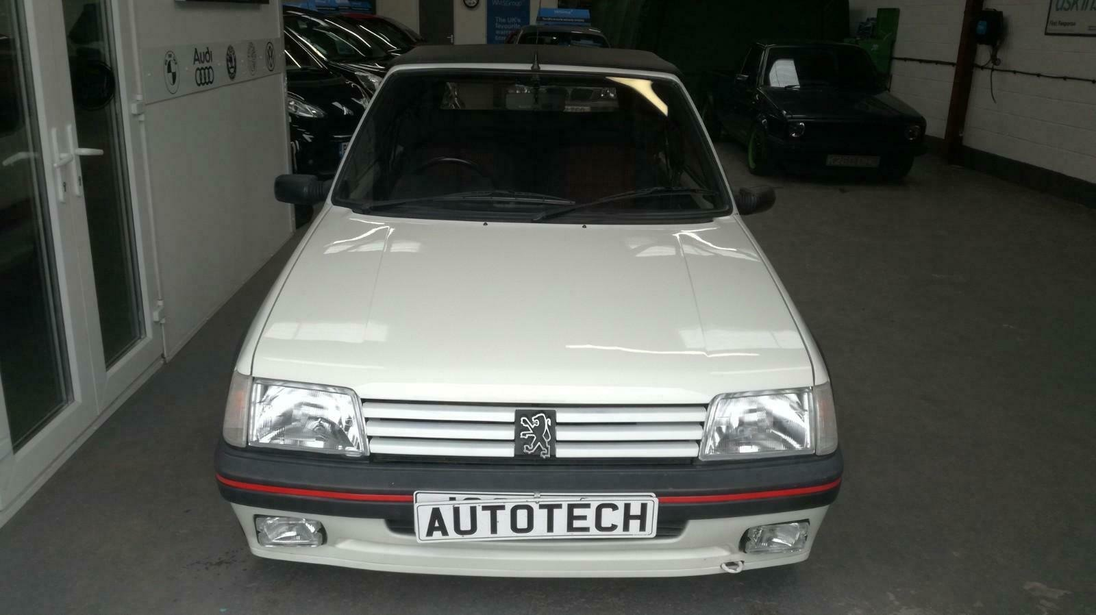 Peugeot 205 CTI 1.6  CABRIOLET 1992 For Sale (picture 3 of 6)