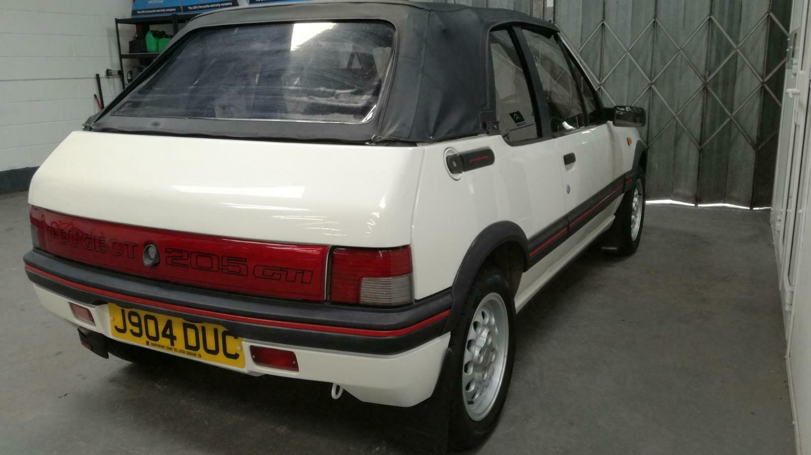 Peugeot 205 CTI 1.6  CABRIOLET 1992 For Sale (picture 4 of 6)