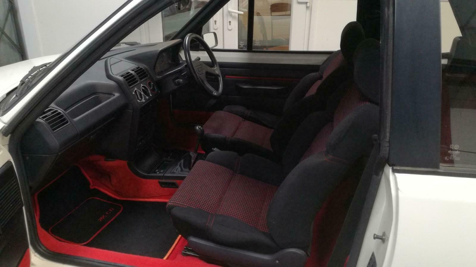 Peugeot 205 CTI 1.6  CABRIOLET 1992 For Sale (picture 6 of 6)