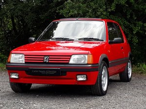 1987 STUNNING LOW MILEAGE PHASE 1 PEUGEOT 205 1.9 GTi
