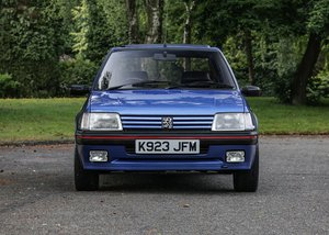1992 Peugeot 205 GTi (1.9 litre) SOLD by Auction