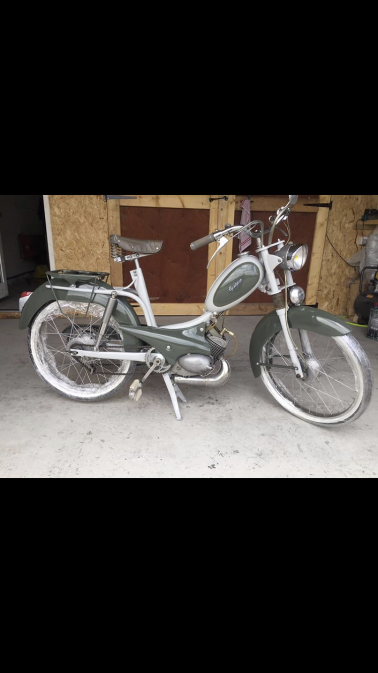 1954 Peugeot bb1 moped Restored  For Sale (picture 2 of 5)