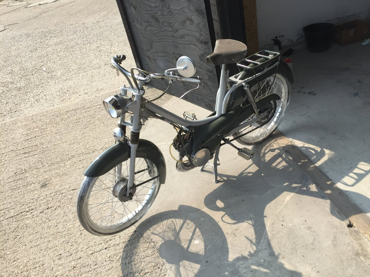 1954 Peugeot bb1 moped Restored  For Sale (picture 4 of 5)