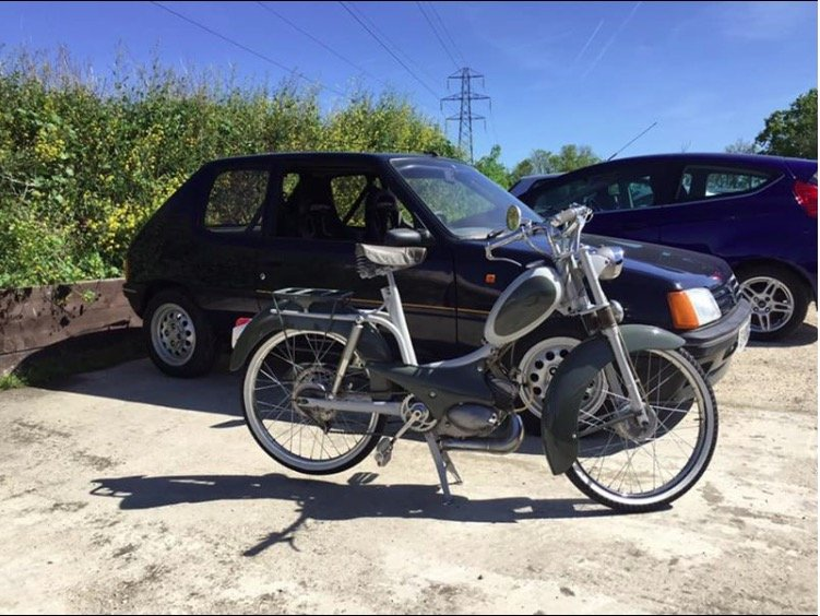 1954 Peugeot bb1 moped Restored  For Sale (picture 1 of 5)