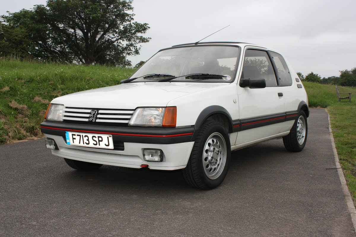 1989 Peugeot 205 GTI 1.6 For Sale (picture 4 of 6)