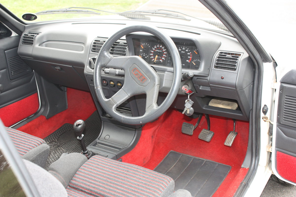 1989 Peugeot 205 GTI 1.6 For Sale (picture 5 of 6)