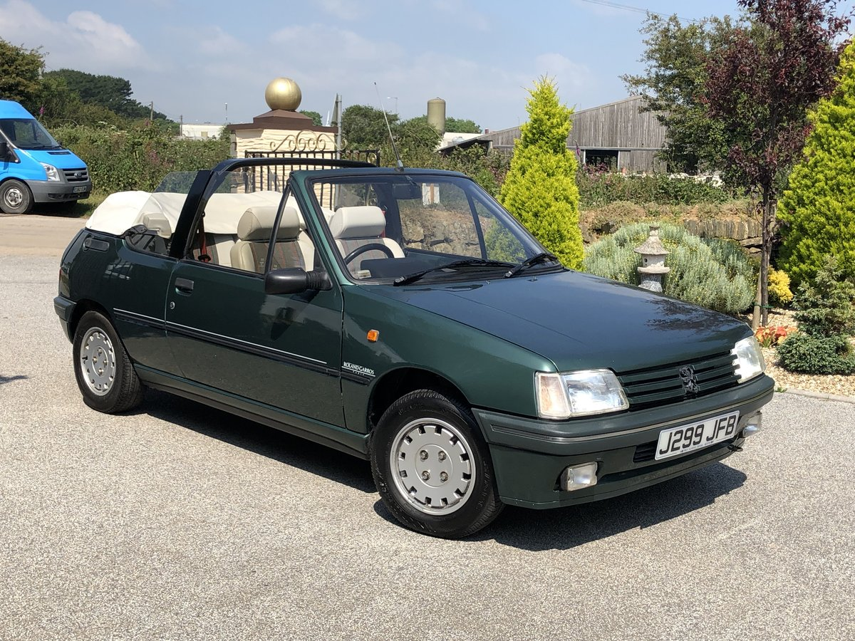 1992 **PEUGEOT 205 ROLAND GARROS CONVERTIBLE 76,000 MILES ONLY!** For Sale (picture 1 of 6)