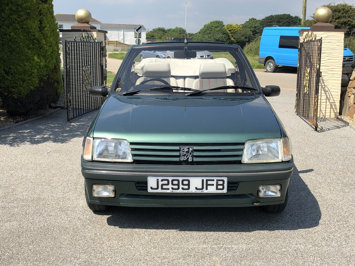 1992 **PEUGEOT 205 ROLAND GARROS CONVERTIBLE 76,000 MILES ONLY!** For Sale (picture 2 of 6)