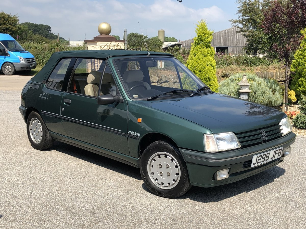 1992 **PEUGEOT 205 ROLAND GARROS CONVERTIBLE 76,000 MILES ONLY!** For Sale (picture 6 of 6)
