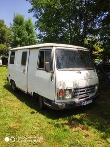 1985 French Peugeot J9 Van Ideal Project