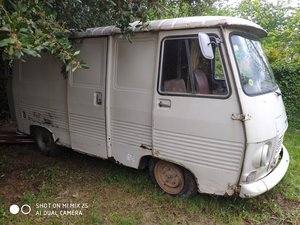 1978 French Peugeot J7 Van Ideal Project