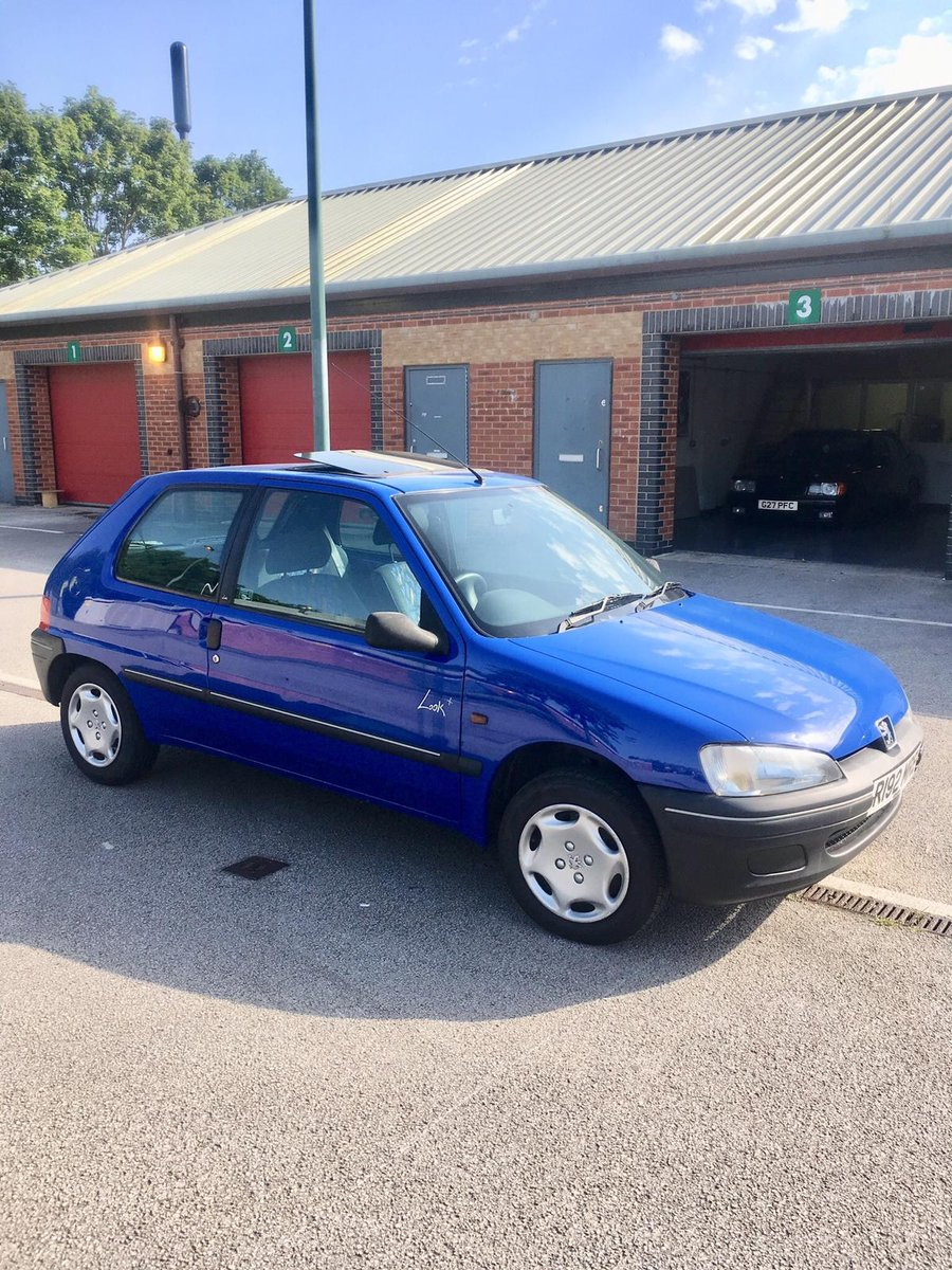1997 Peugeot 106 Look+ 1.1 low mileage For Sale (picture 1 of 6)