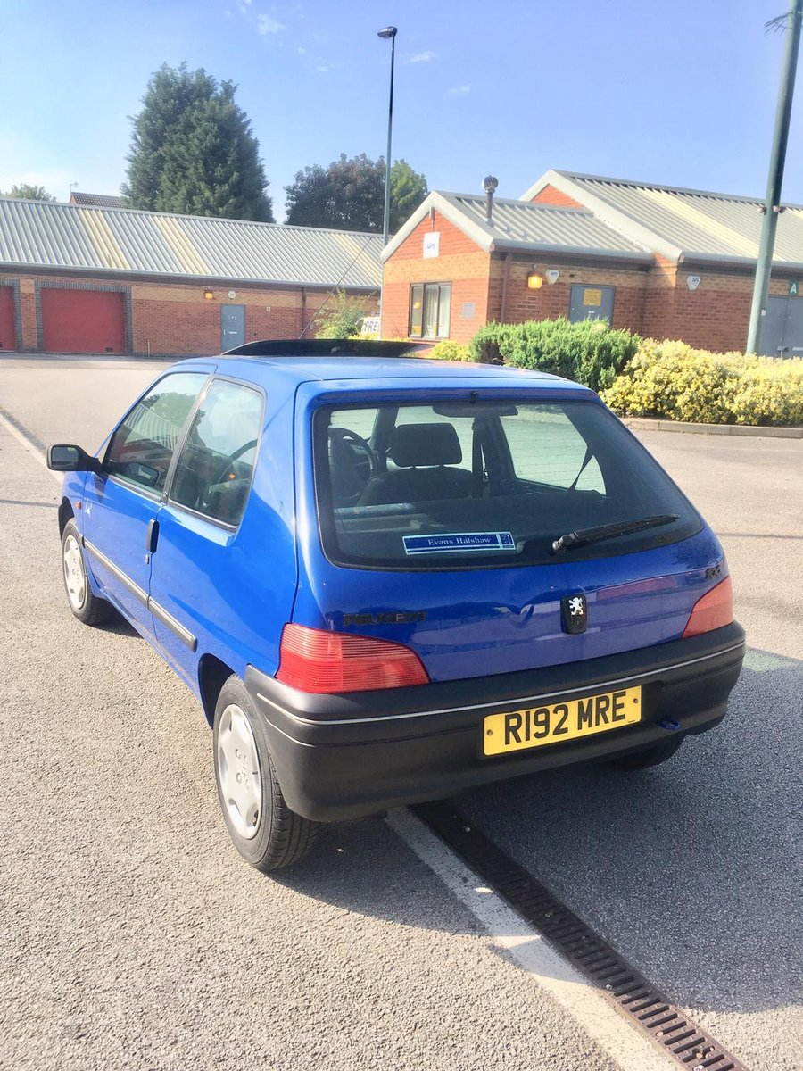 1997 Peugeot 106 Look+ 1.1 low mileage For Sale (picture 2 of 6)