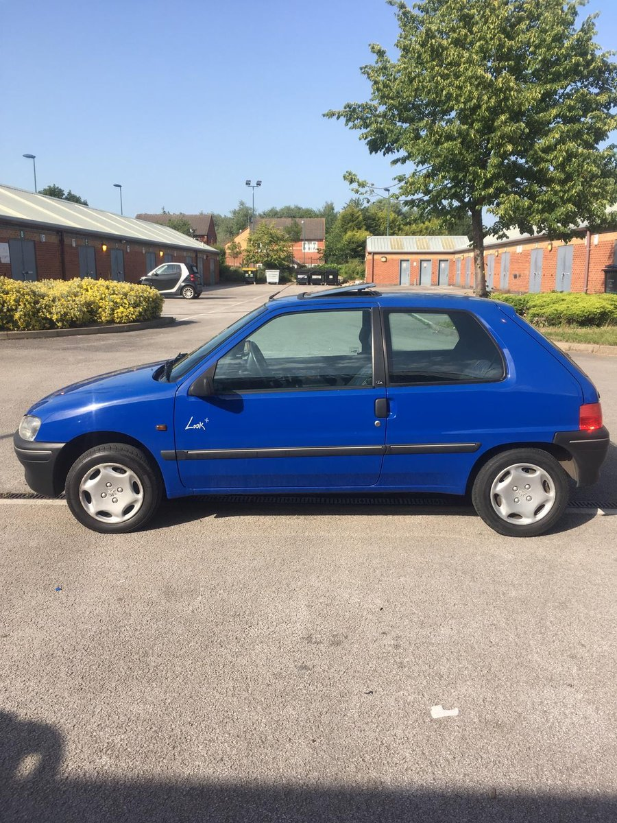 1997 Peugeot 106 Look+ 1.1 low mileage For Sale (picture 3 of 6)