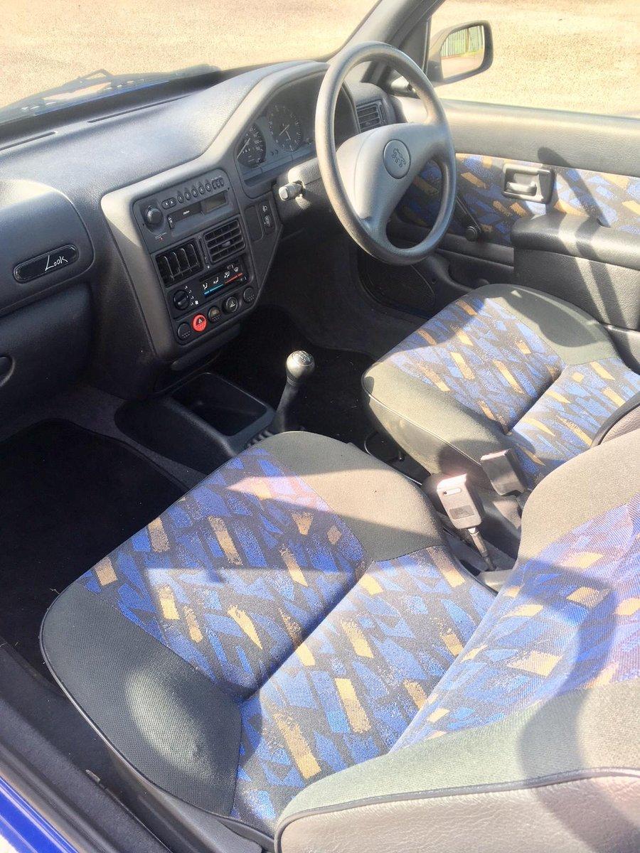1997 Peugeot 106 Look+ 1.1 low mileage For Sale (picture 5 of 6)