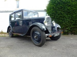1931 Peugeot 201C Saloon For Sale by Auction