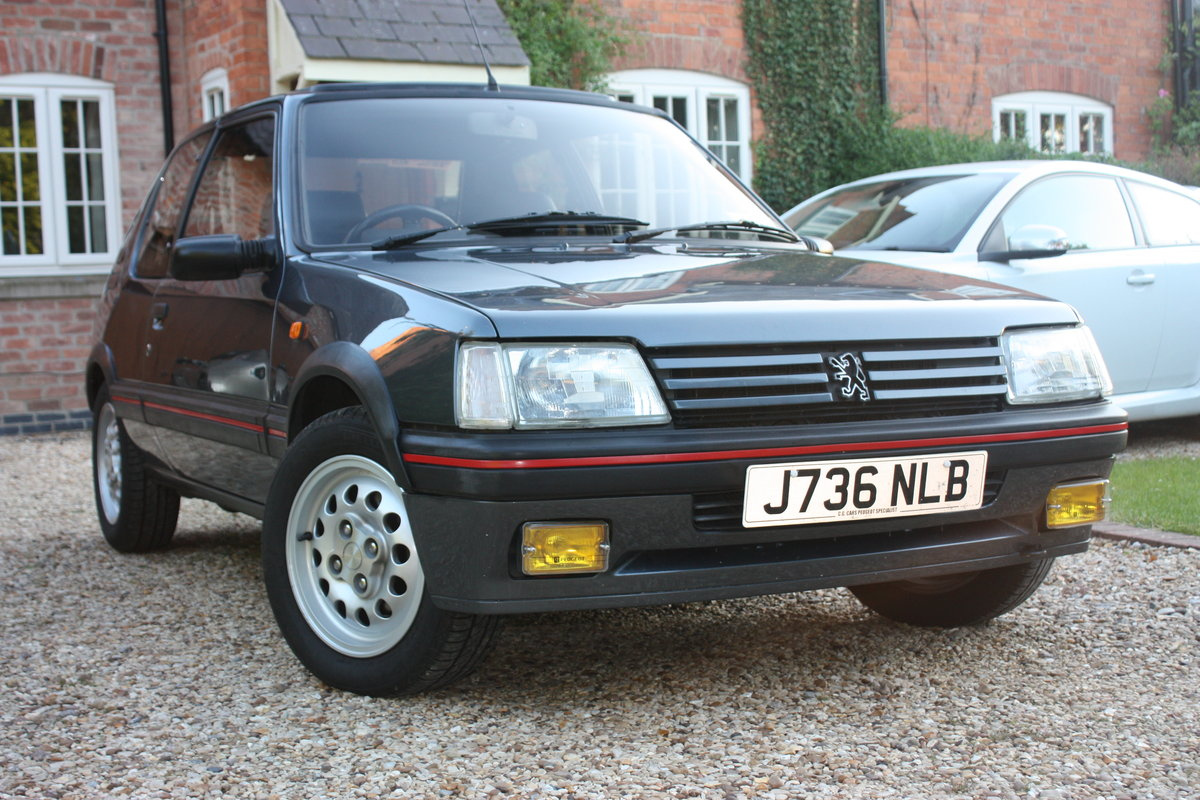 1992 1.6 205 GTi - owned 14 years For Sale (picture 1 of 6)