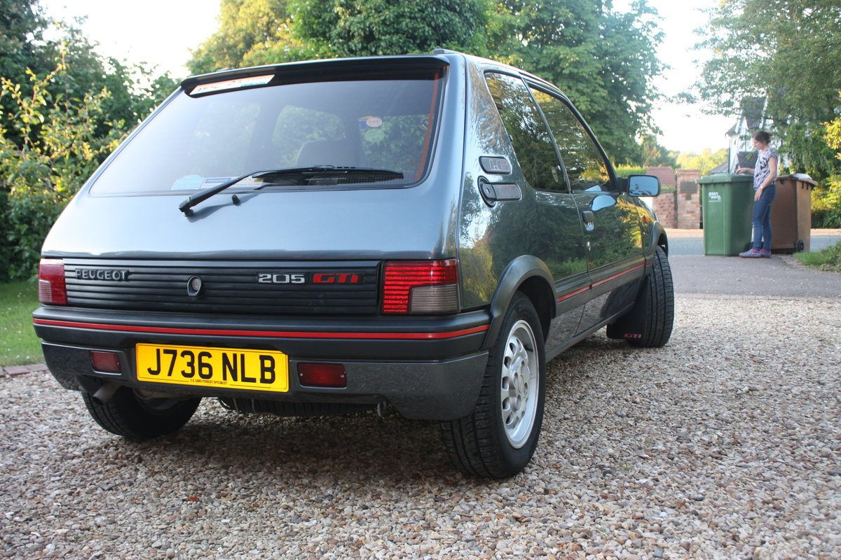 1992 1.6 205 GTi - owned 14 years For Sale (picture 2 of 6)
