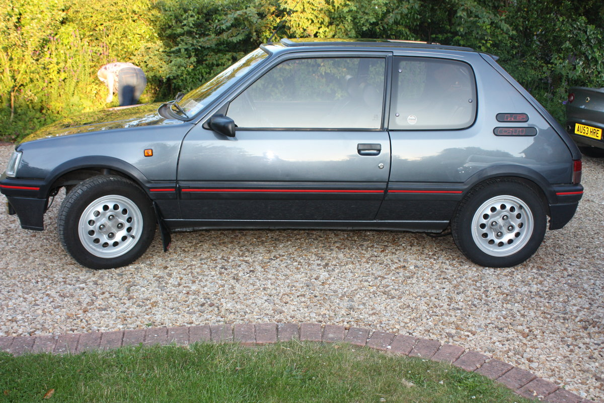 1992 1.6 205 GTi - owned 14 years For Sale (picture 3 of 6)
