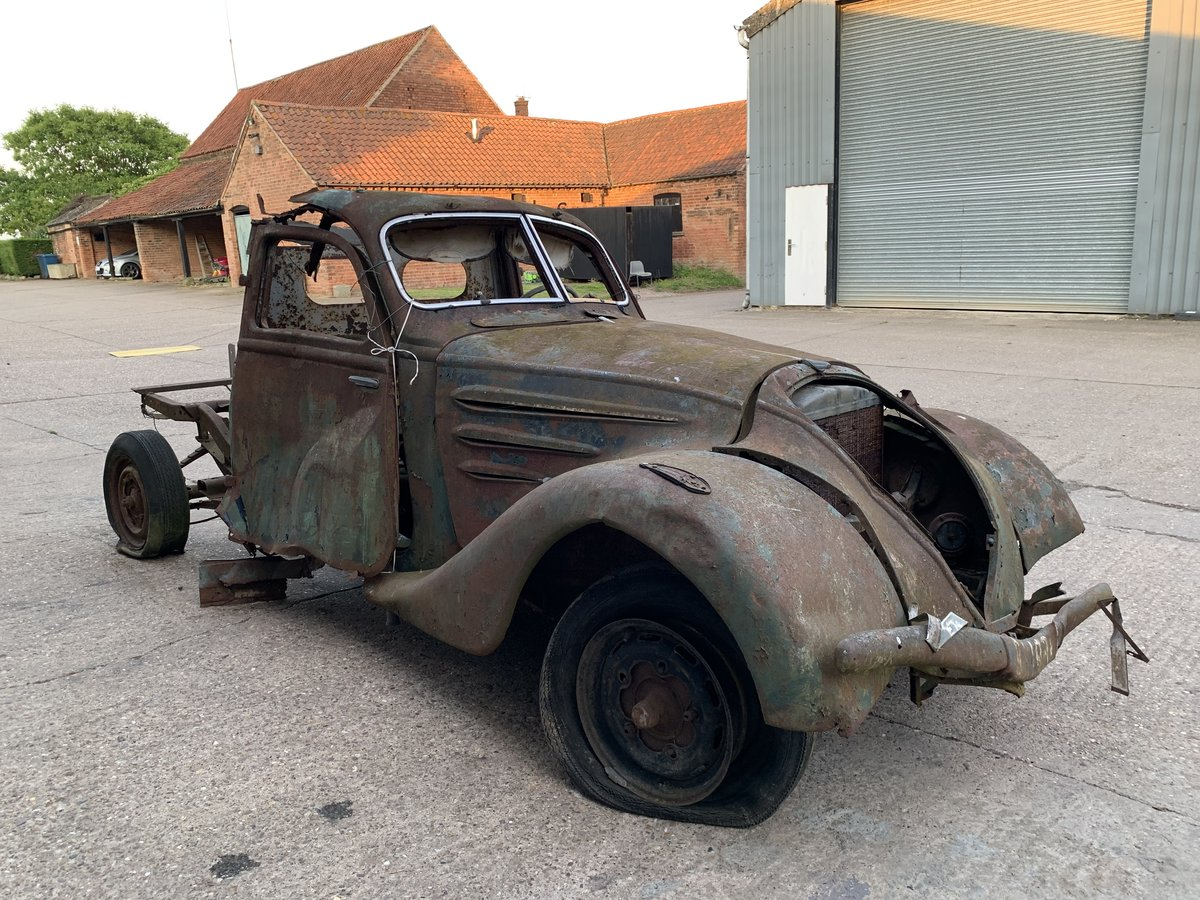 1938 Peugeot 302 for spares For Sale by Auction (picture 1 of 6)
