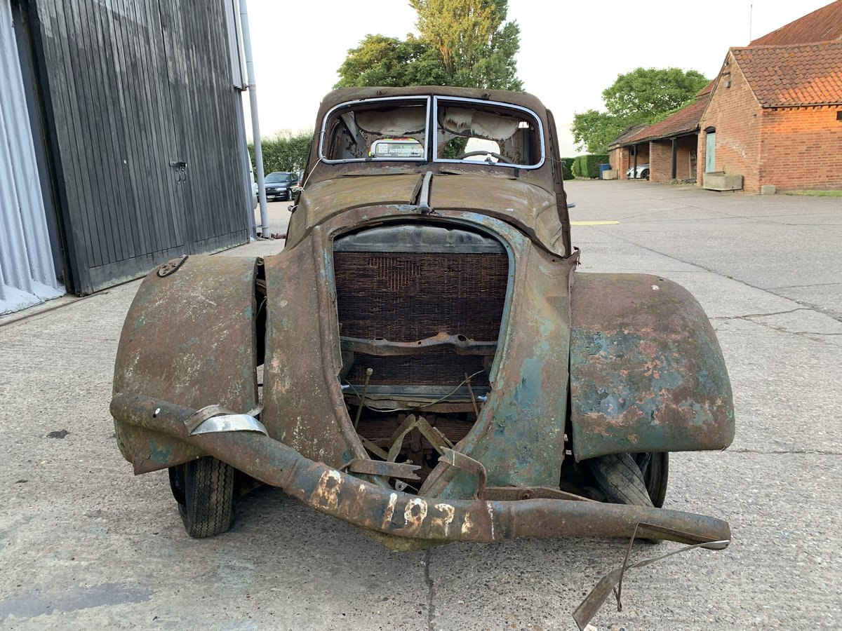 1938 Peugeot 302 for spares For Sale by Auction (picture 4 of 6)