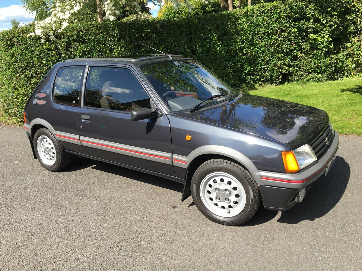 1988 Peugeot 205 GTI 1.6 For Sale (picture 1 of 6)