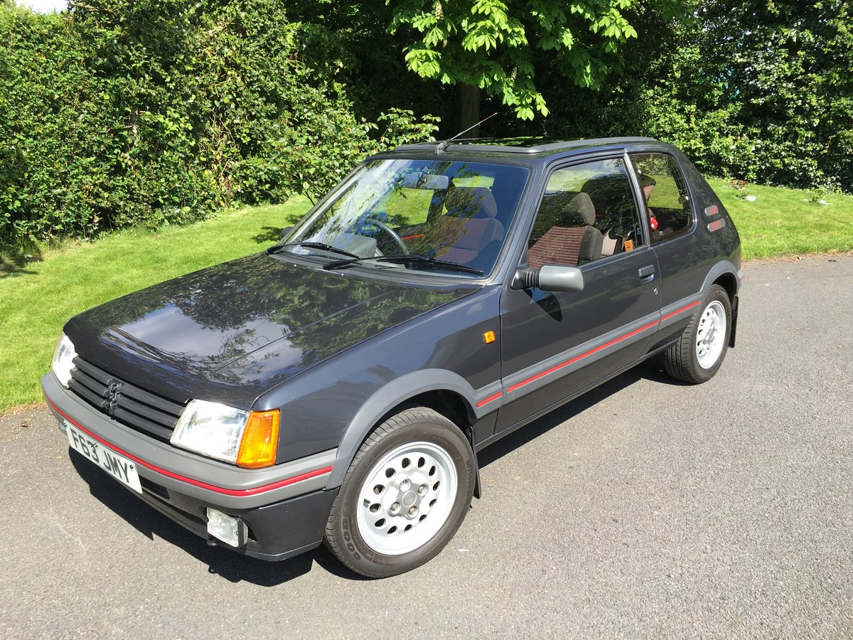 1988 Peugeot 205 GTI 1.6 For Sale (picture 2 of 6)