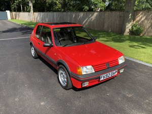 1988 Peugeot 205 GTi - £7K Resto 74,000 miles For Sale by Auction