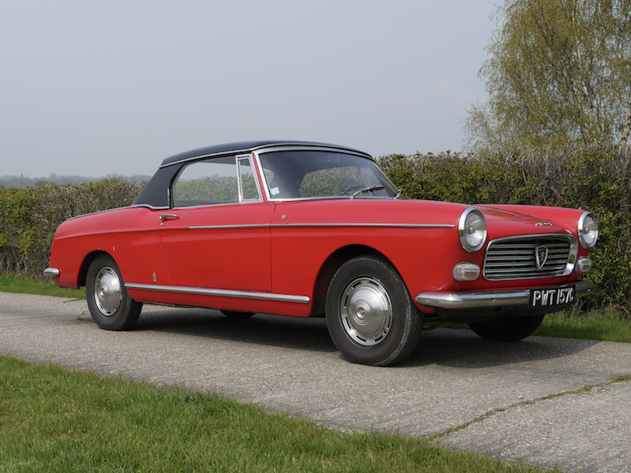 1965 Peugeot 404 Cabriolet Injection For Sale (picture 1 of 6)