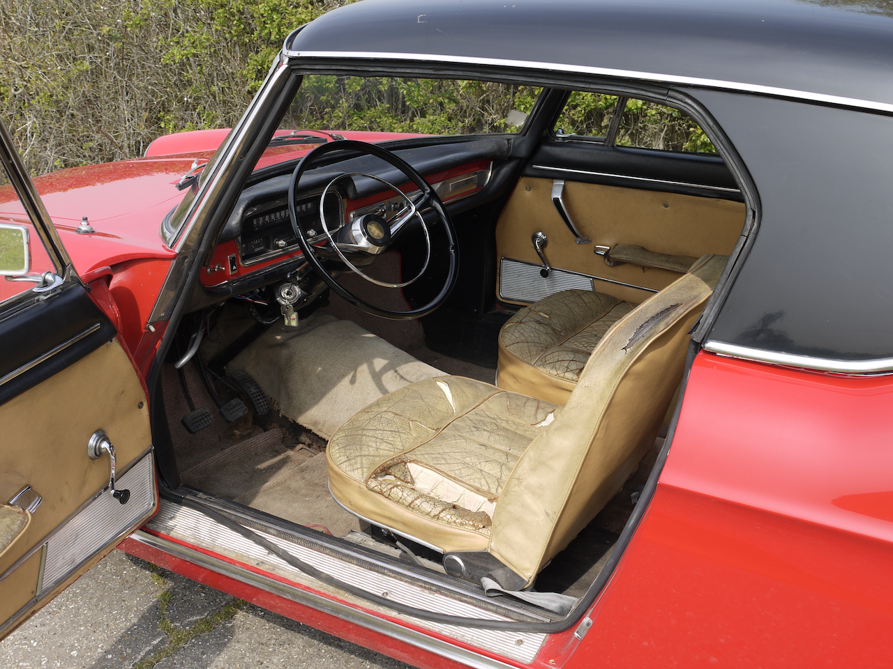1965 Peugeot 404 Cabriolet Injection For Sale (picture 5 of 6)