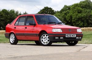 1990 Peugeot 309 1.9 GTI - One Owner & 15,000 miles For Sale by Auction