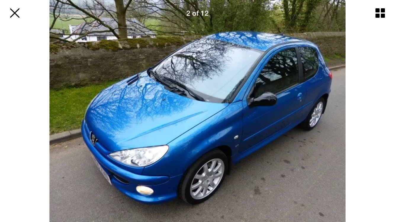 2005 Peugeot 206 GTI 2.0. For Sale (picture 2 of 6)