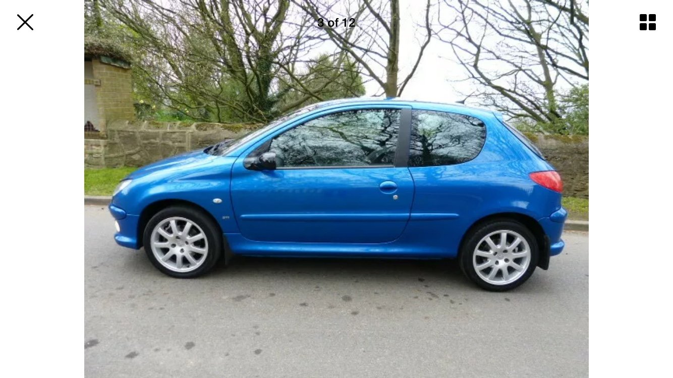 2005 Peugeot 206 GTI 2.0. For Sale (picture 3 of 6)