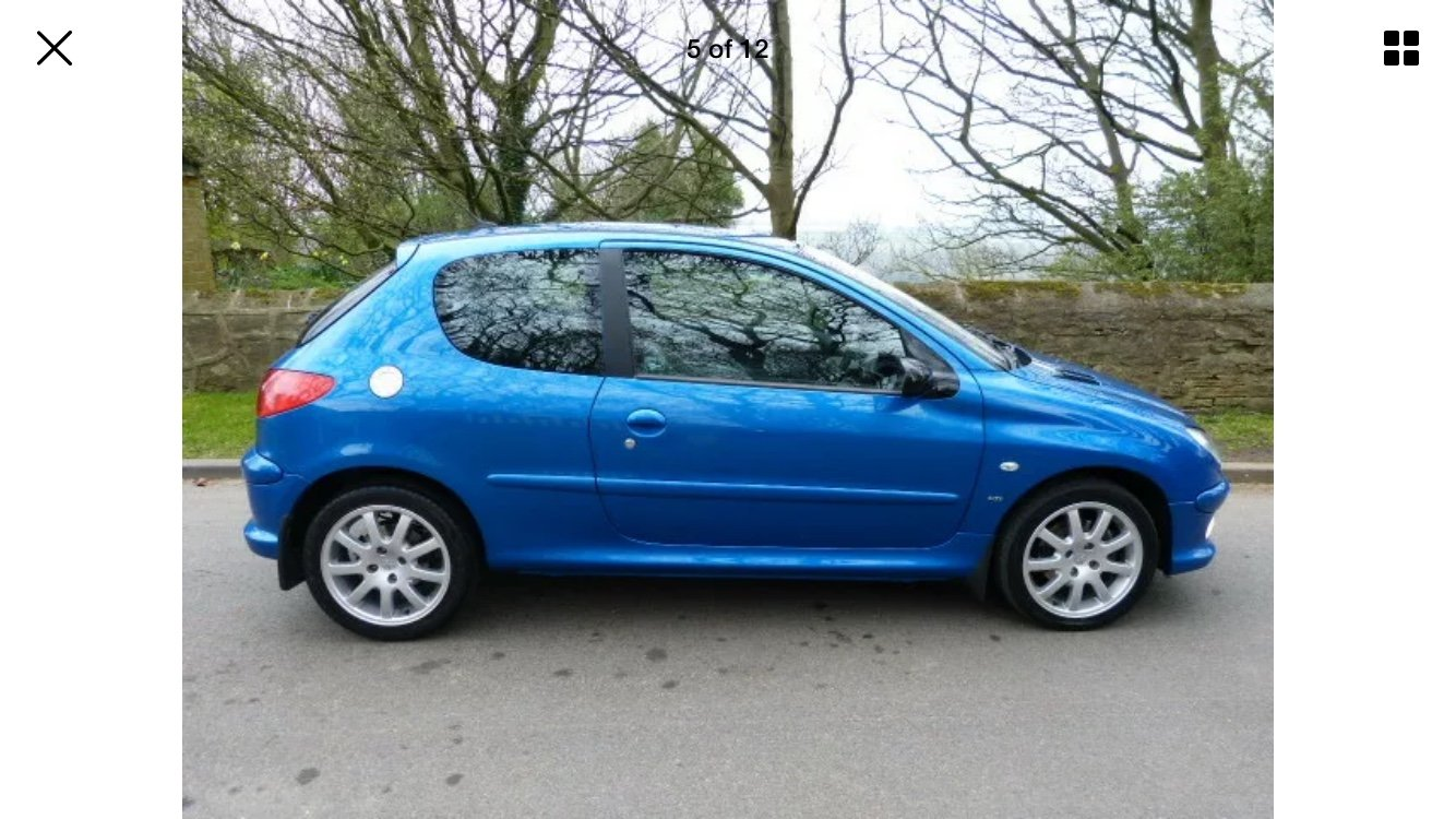 2005 Peugeot 206 GTI 2.0. For Sale (picture 4 of 6)