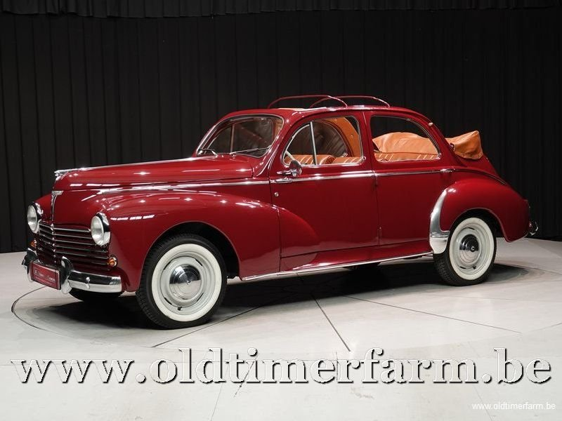1956 Peugeot 203 C Découvrable '56 For Sale (picture 1 of 6)
