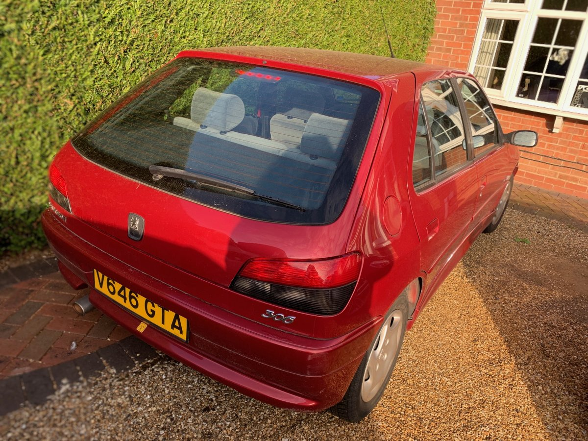 2000 Peugeot 306. 36k mileage. Excellent Condiiton For Sale (picture 2 of 6)