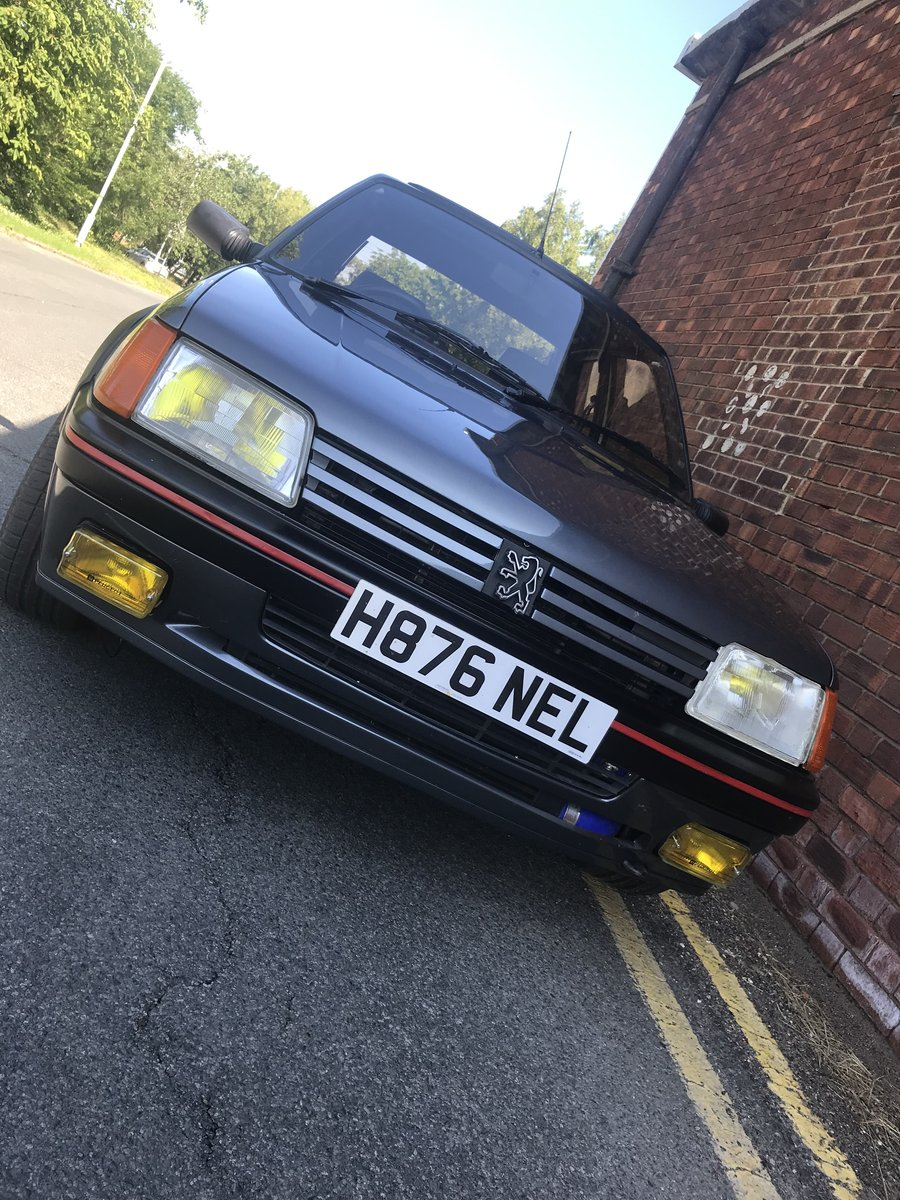 1991 Peugeot 205 GTi - modified Porsche beater For Sale (picture 1 of 4)