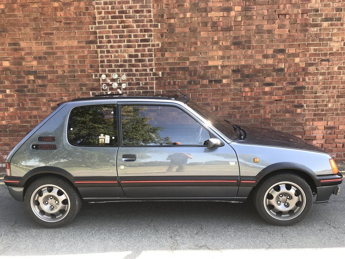 1991 Peugeot 205 GTi - modified Porsche beater For Sale (picture 2 of 4)