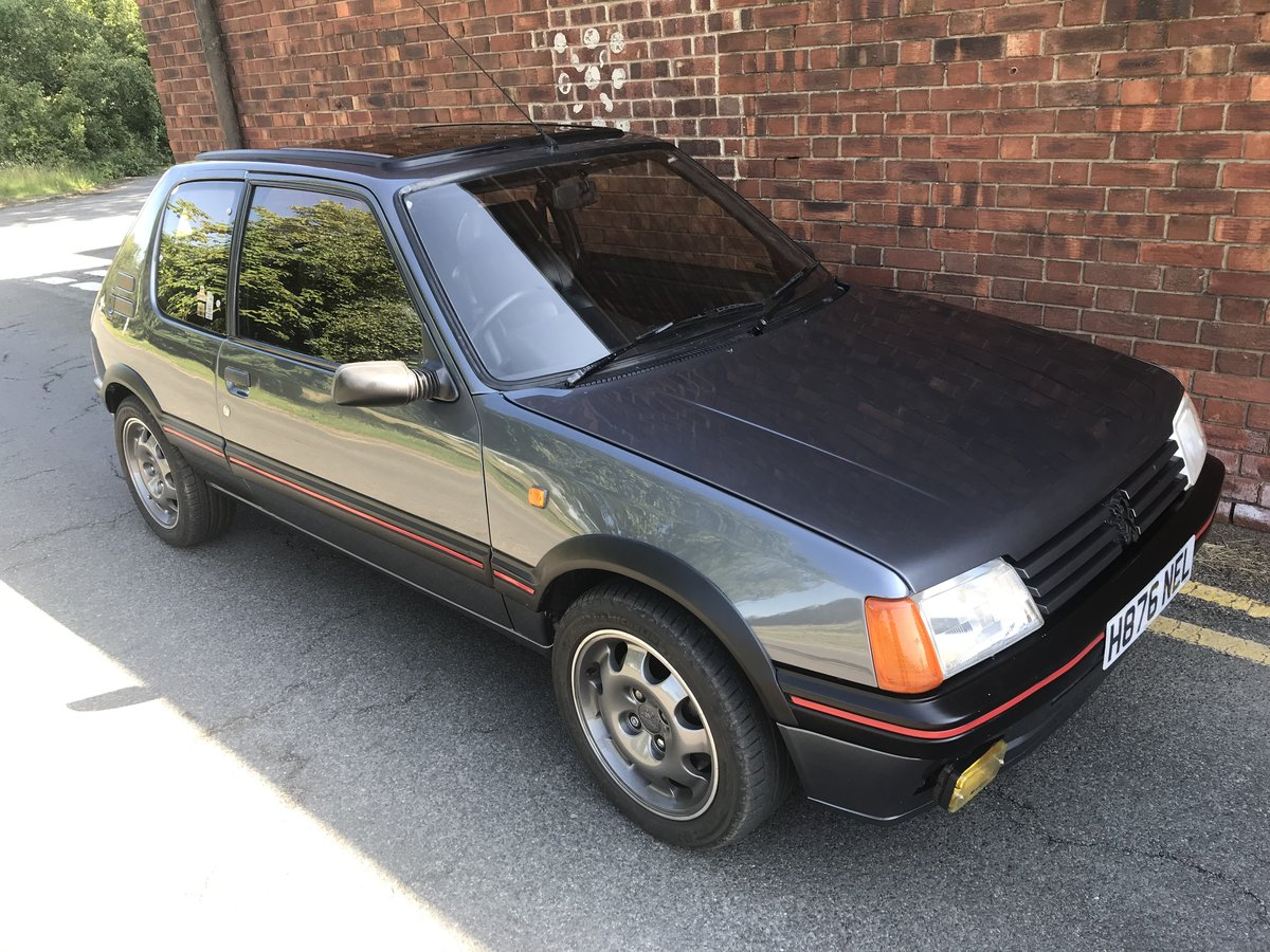 1991 Peugeot 205 GTi - modified Porsche beater For Sale (picture 4 of 4)