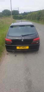 1999 Rare Black Peugeot 306 Rallye