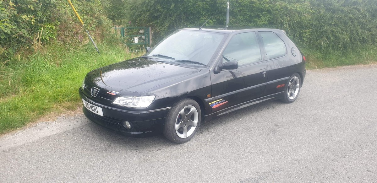 1999 Rare Black Peugeot 306 Rallye For Sale (picture 2 of 6)