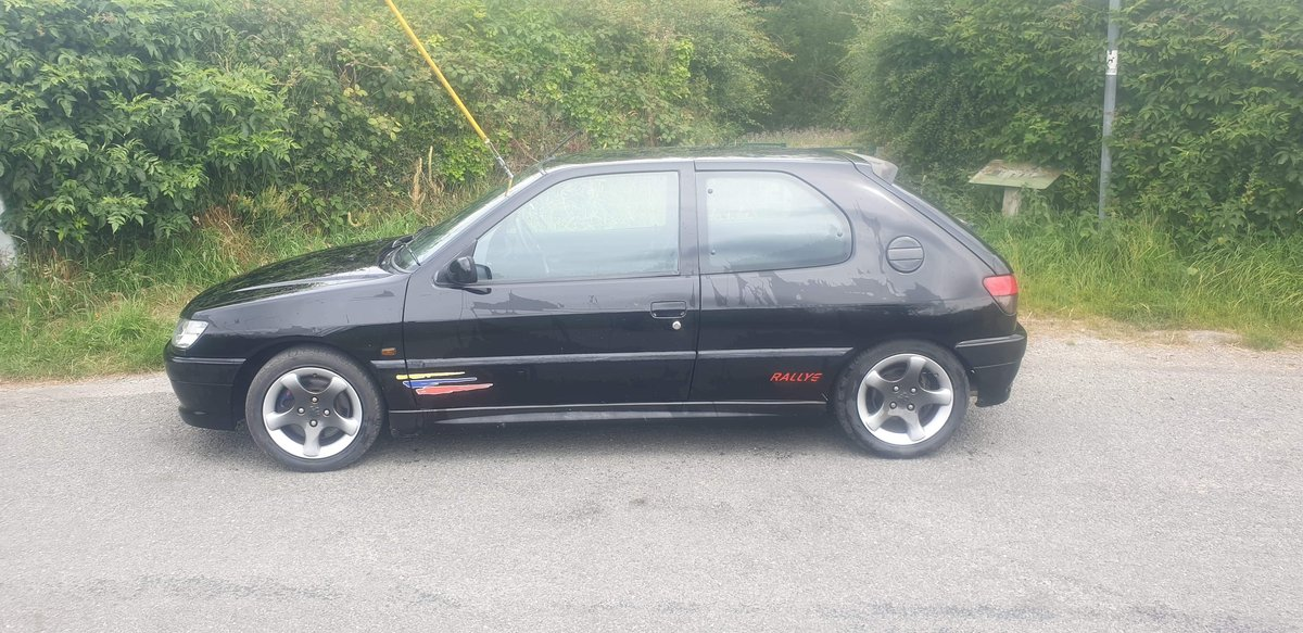 1999 Rare Black Peugeot 306 Rallye For Sale (picture 3 of 6)
