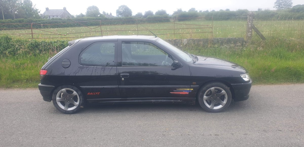 1999 Rare Black Peugeot 306 Rallye For Sale (picture 4 of 6)