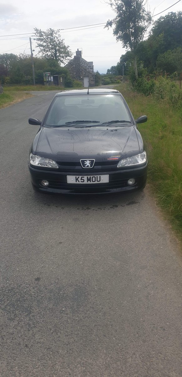 1999 Rare Black Peugeot 306 Rallye For Sale (picture 5 of 6)