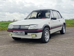 1992 Peugeot 205 CTi For Sale by Auction