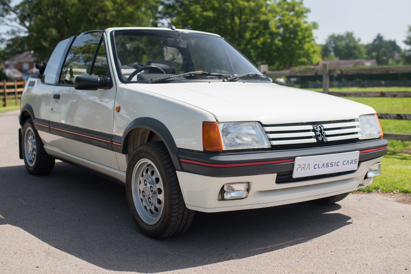 1988 Peugeot 205 CTI 1.6 Convertible For Sale (picture 1 of 6)