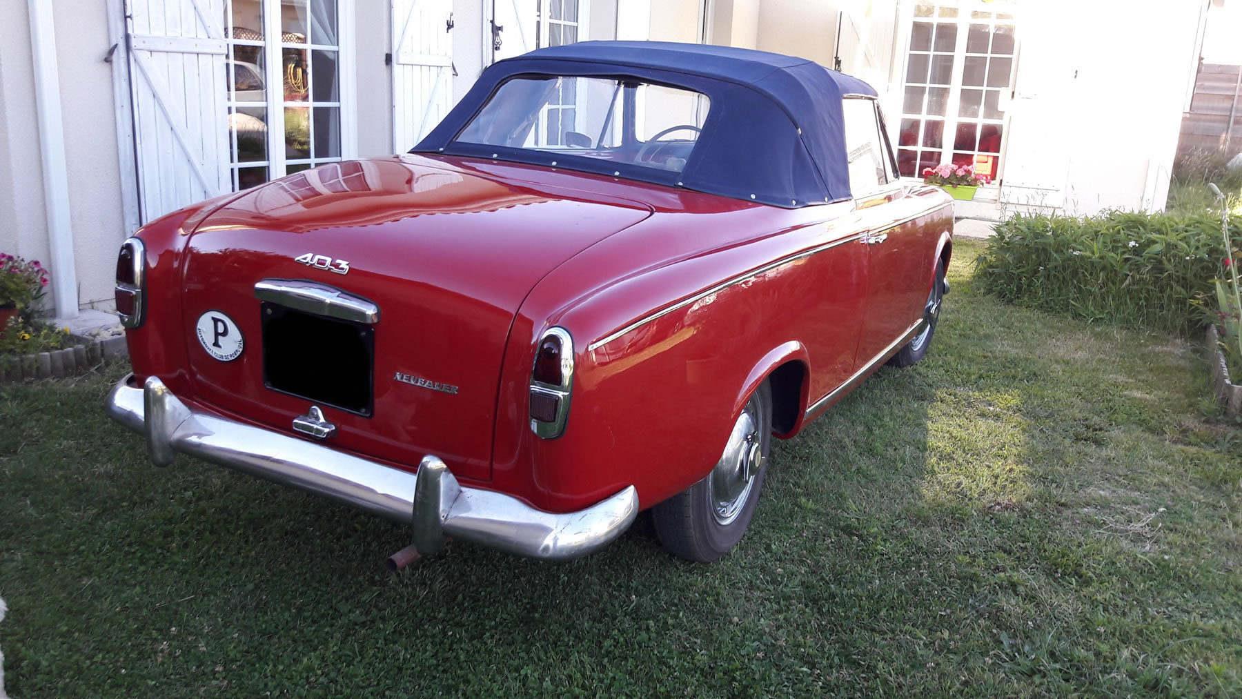 Very rare Peugeot 403 Cabrio 1957 For Sale (picture 4 of 6)