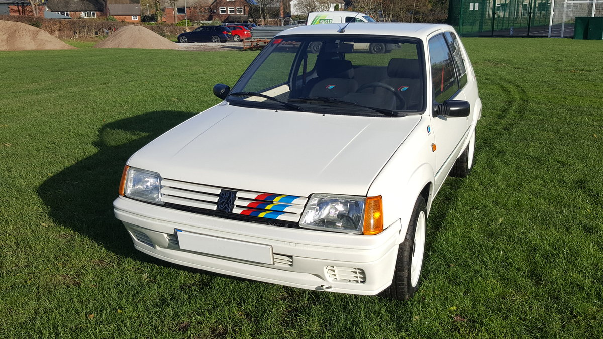 1989 Peugeot 205 Euro Rallye For Sale (picture 2 of 6)