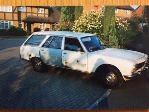 1981 Peugeot 504  Family Estate  Trop Spec sole owner