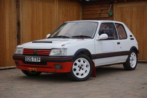 1986 Peugeot 205 GTi Rally Car For Sale by Auction